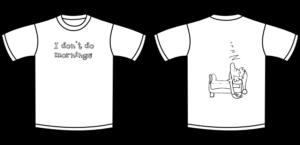 polyphasic sleep T-shirt don't do mornings